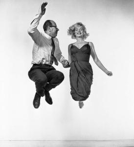 Phillipe Halsman y Marilyn Monroe