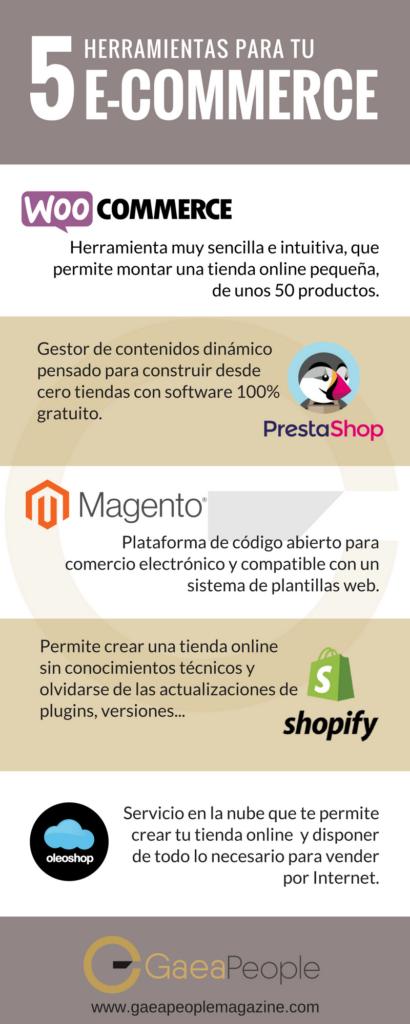 5 herramientas para tu e-commerce
