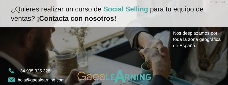 GaeaLearning te ofrece un curso formativo sobre Social Selling