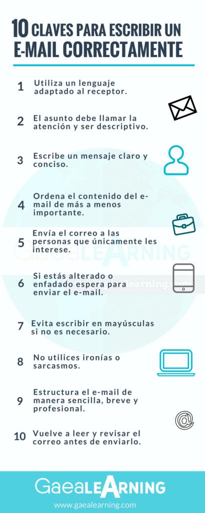 10 claves para escribir un e-mail correctamente