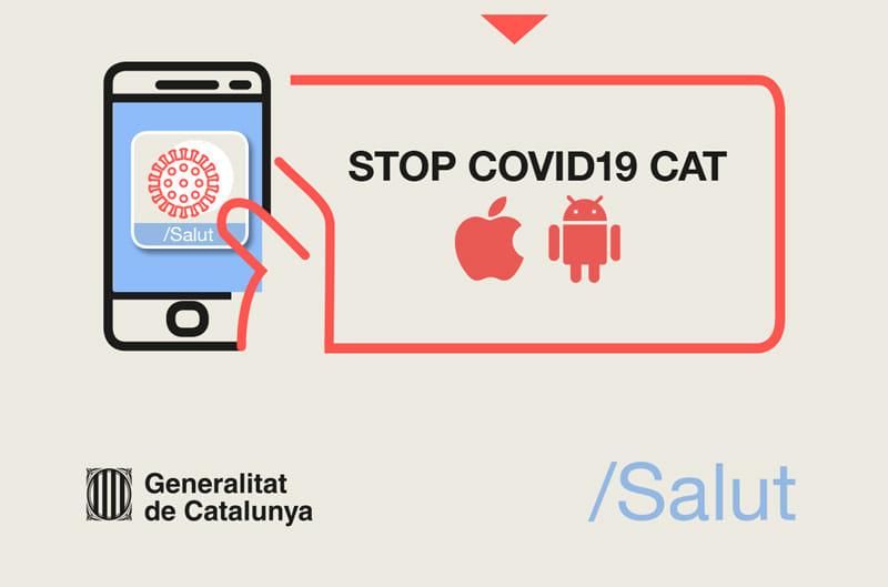app stop covid19 CAT. Salut Catalunya