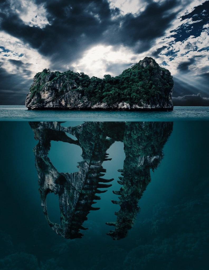 misterio bajo la isla-lo que no vemos