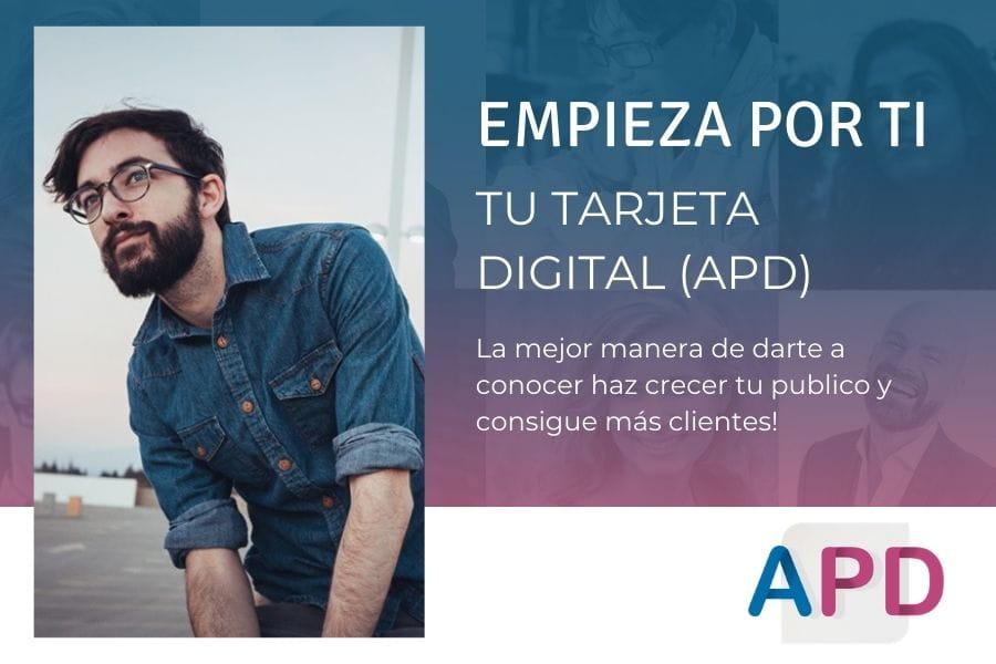 APD Tarjeta digital