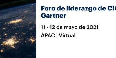 Foro de liderazgo de CIO de Gartner – APAC | Virtual