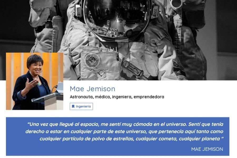 P Propósito De Mae Jamison