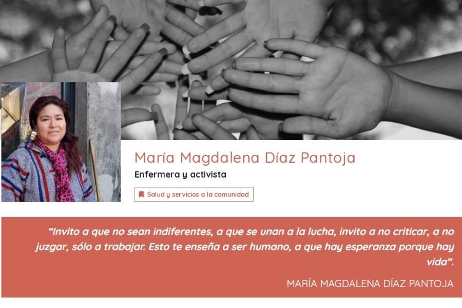 Tarjeta digital APD, de María Díaz Pantoja