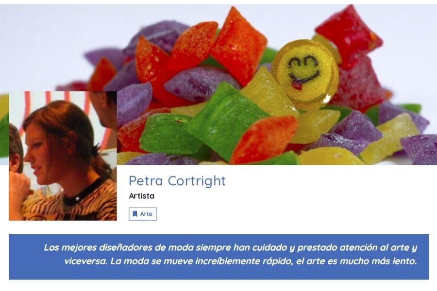 A Propósito De Petra Cortright. APD