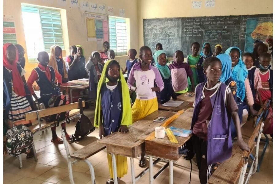 Escuela en Senegal