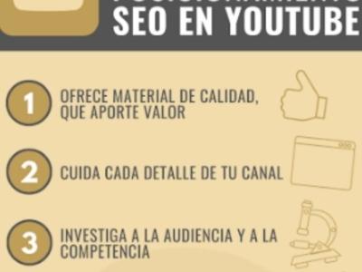 10 consejos de posicionamiento SEO en YouTube