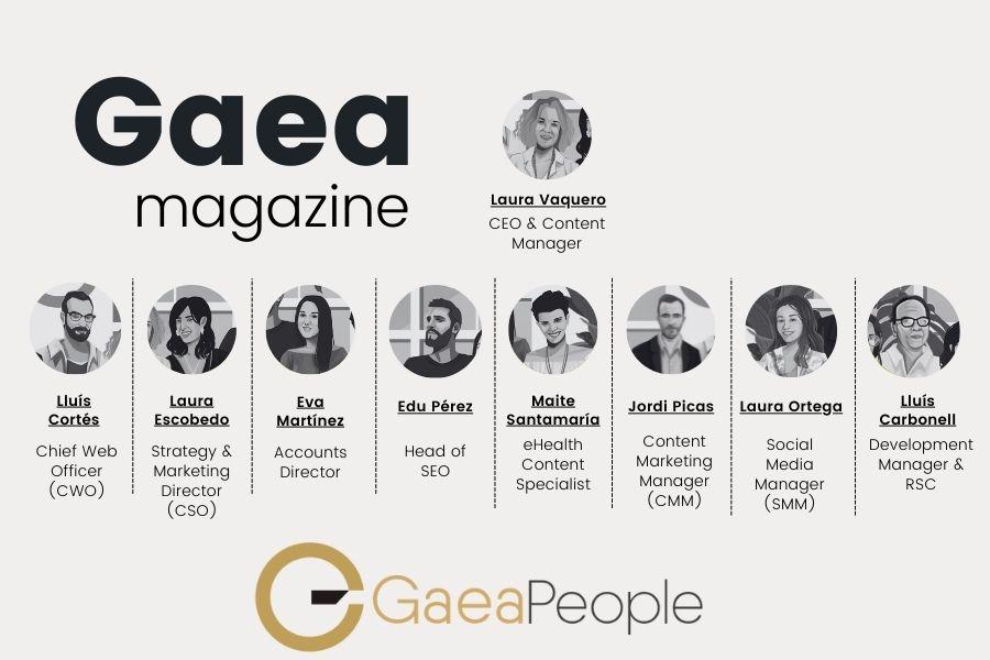 Colaboradores de GAEA Magazine