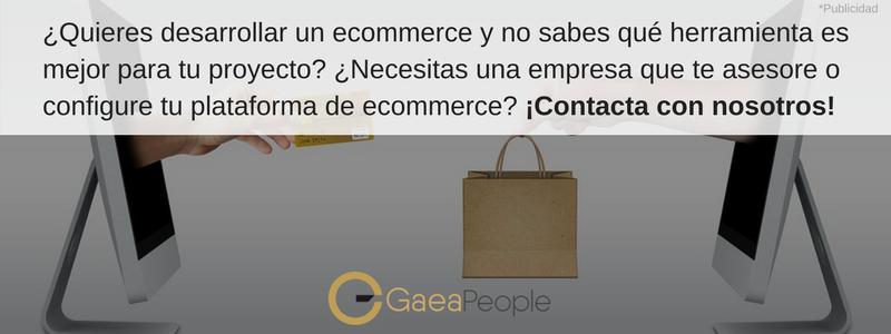 GaeaPeople te ayuda con tu e-Commerce