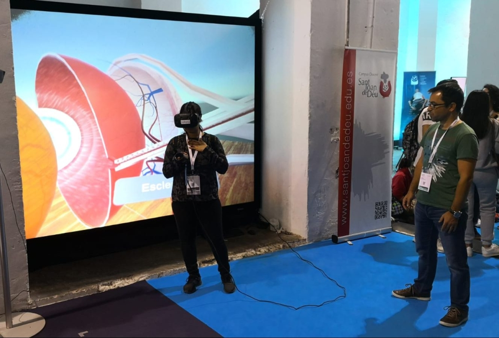Gafas realidad virtual - Healthio 2018