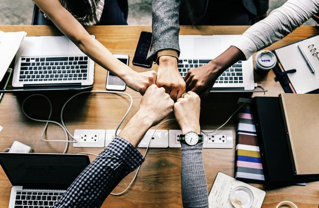 Trabajo en equipo, colaboración entre profesores