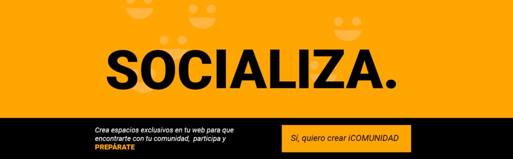 Crea espacios exclusivos en tu web para que encontrarte con tu comunidad, participa y prepárate
