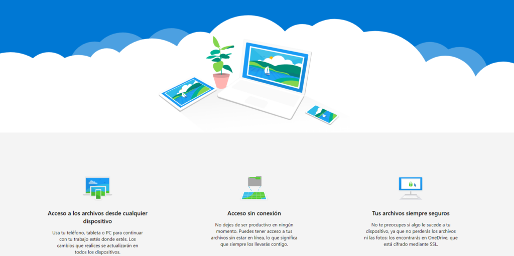 Web de Microsoft OneDrive