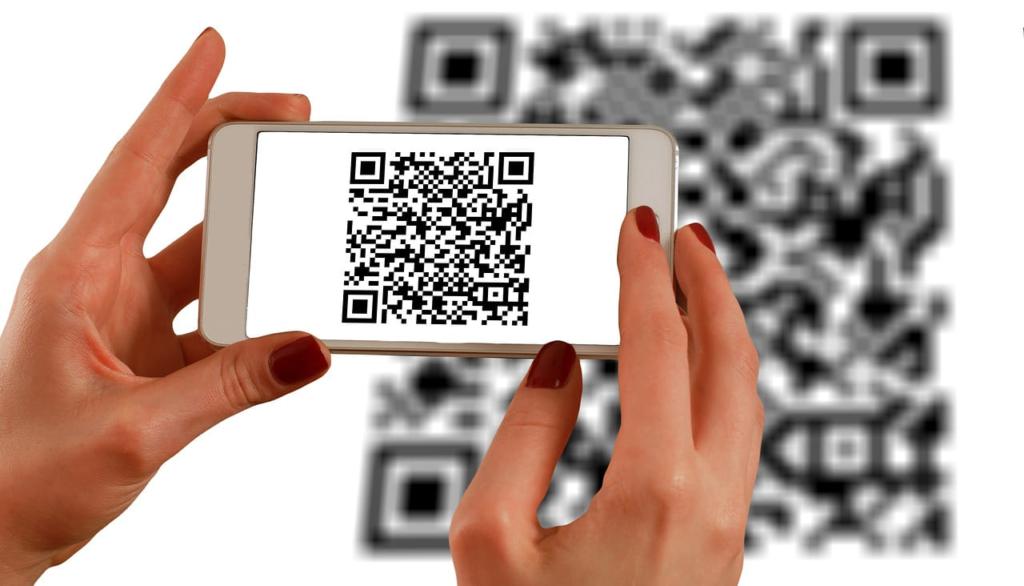 Lector de QR con smartphone