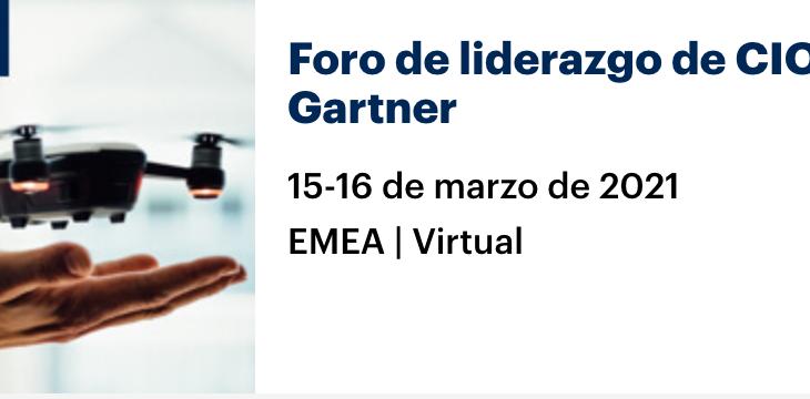 Foro de liderazgo de CIO de Gartner – EMEA | Virtual