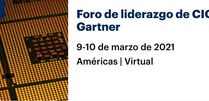 Foro de liderazgo de CIO de Gartner – AMÉRICAS | Virtual