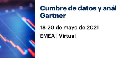 Cumbre de datos y análisis de Gartner / Emea