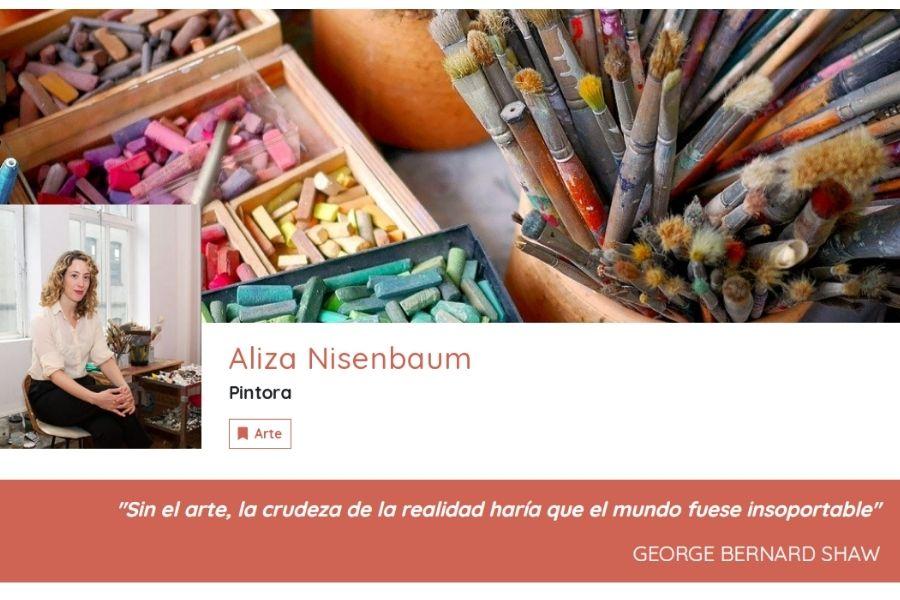 A Propósito De Aliza Nisenbaum APD. Tarjeta Digital